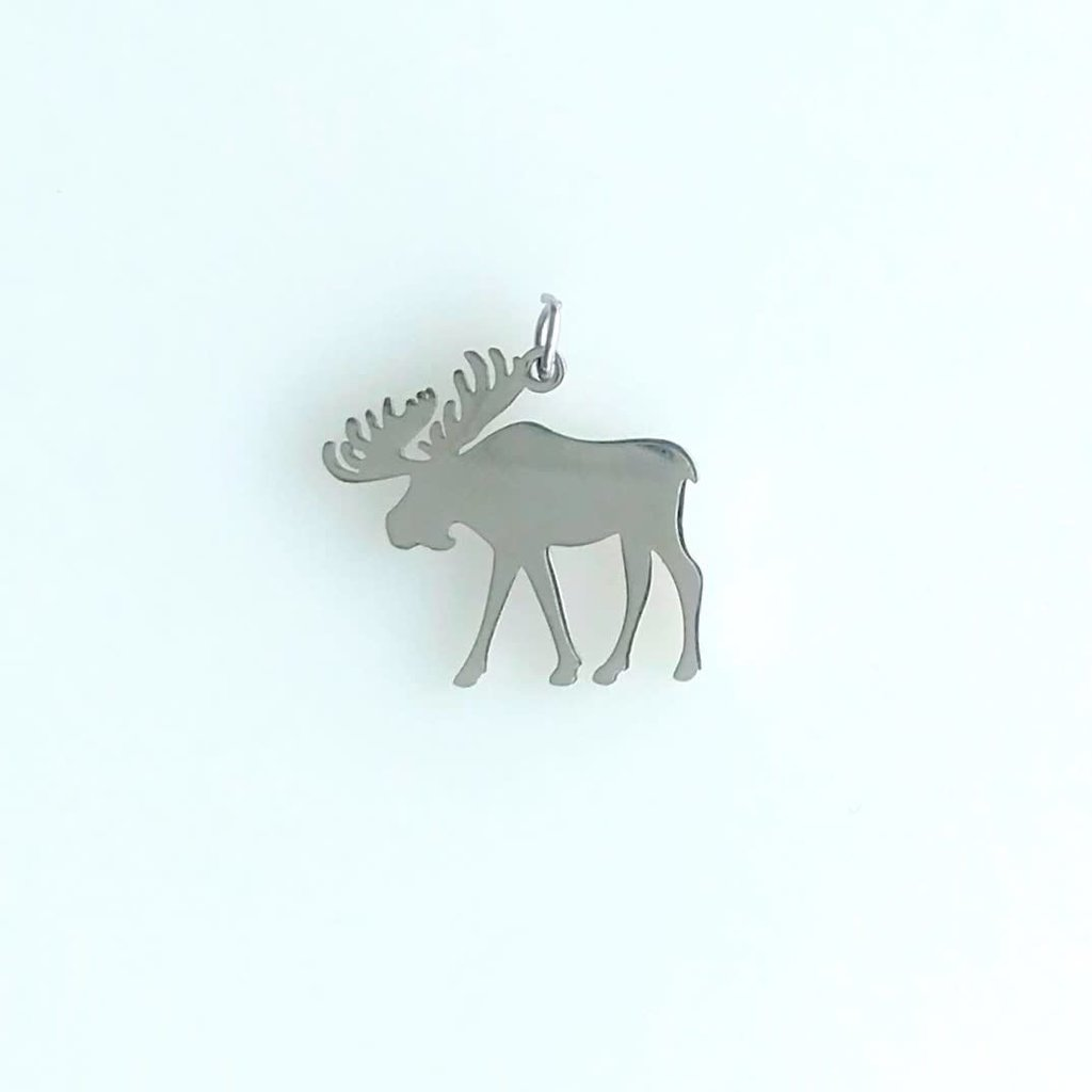 Bead World Moose Stainless Steel  14x15.6mm