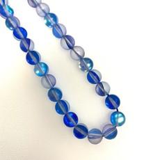 Bead World Matte Rainbow Mermaid Glass Beads 8mm 45pcs/strand  11 Assorted Colors!