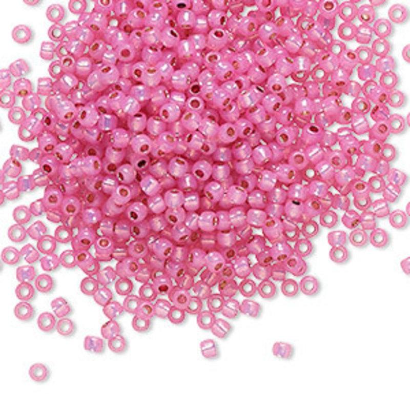 Toho Toho#11 S-Lined Milky Hot Pink A4247 7.5gram