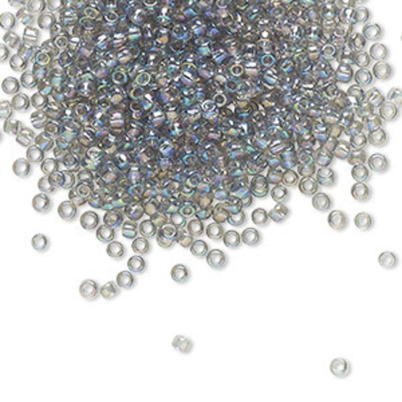 Toho Toho#11 Transparent Rainbow Black Diamond A4130     7.5gram