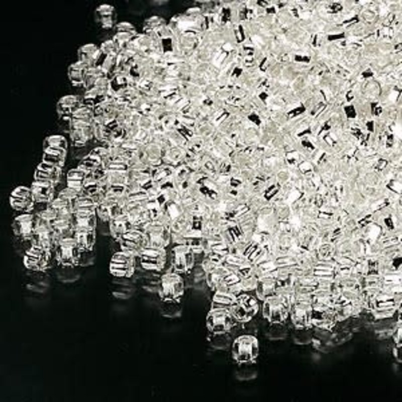 Dyna-Mites Dyna-Mites #11 Round w/ Square Hole Silver-Lined Translucent Clear 40 Grams Package