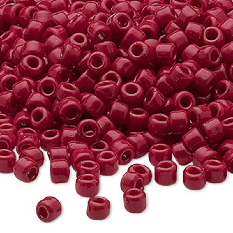 Dyna-Mites Dyna-Mites #6 Round Opaque Brick Red 40 Grams Package