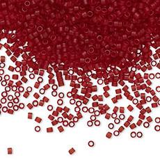 Miyuki Delica #11 Trans Matte Dark Cranberry Db1262   7.5 Gram