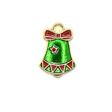 Bead World Bell with a Star Charm 10mm x 20mm 3 pcs.