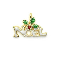 Bead World Noel Mistletoe 20mm x 15mm 3 pcs.