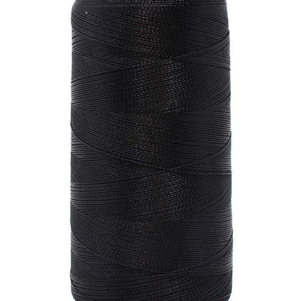Bead World BEADING THREAD BLACK #2D Nylon