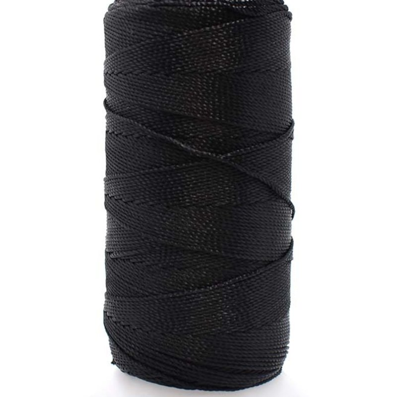 Bead World BEADING THREAD BLACK #12D Nylon  150M
