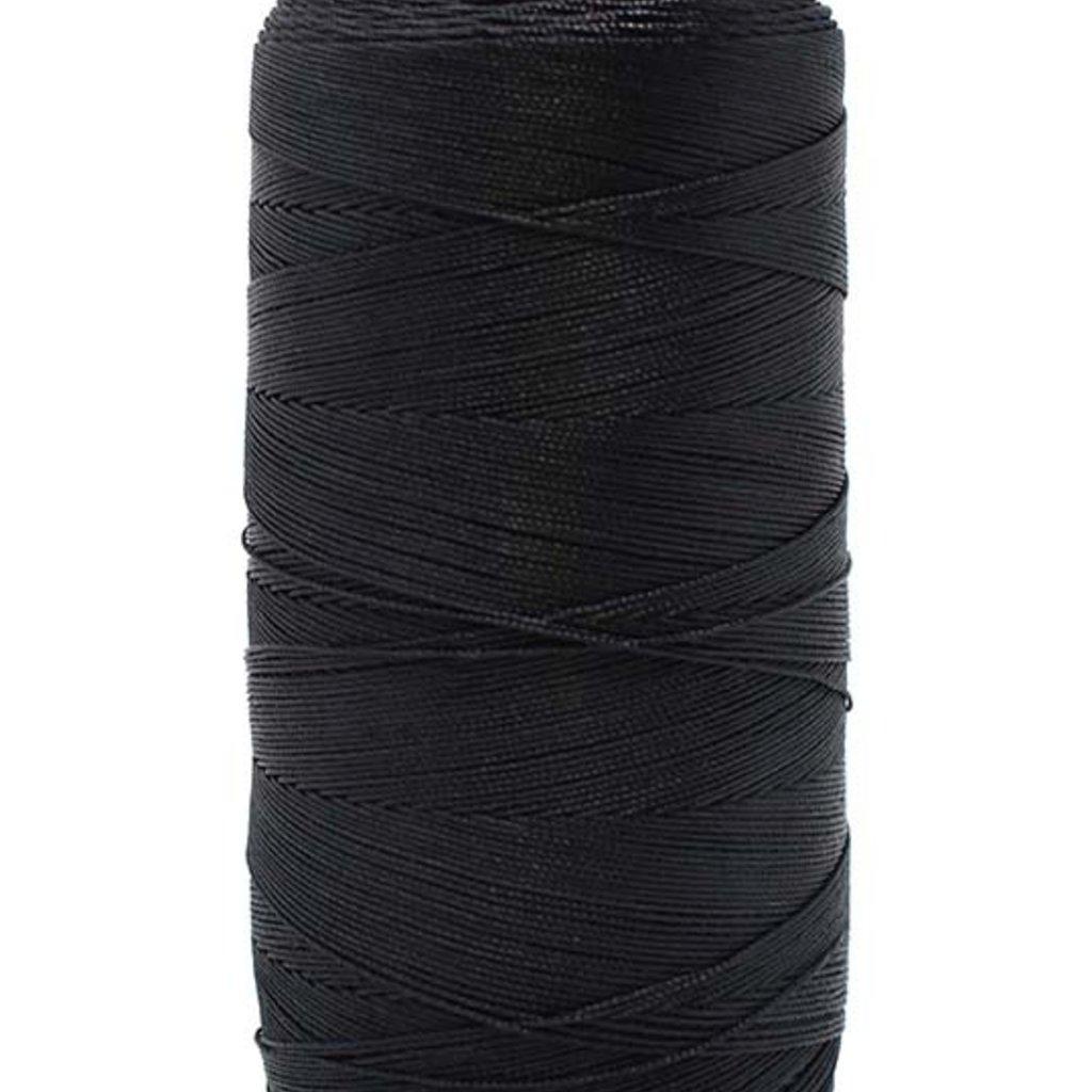 Bead World BEADING THREAD BLACK #4D Nylon