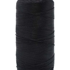 Bead World BEADING THREAD BLACK #4D Nylon