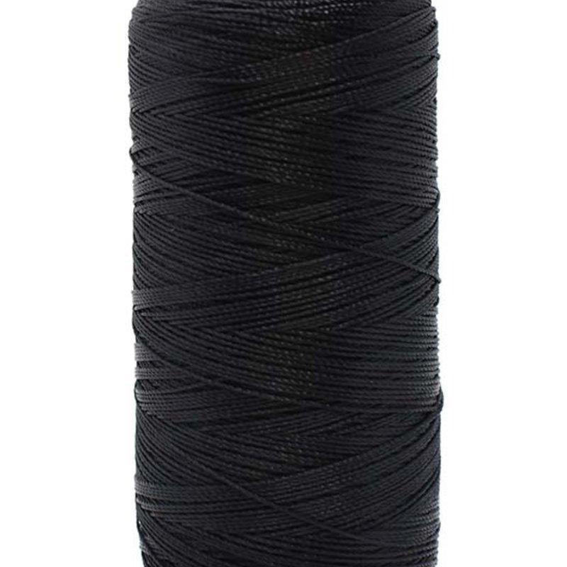 Bead World BEADING THREAD BLACK #6D Nylon 450M