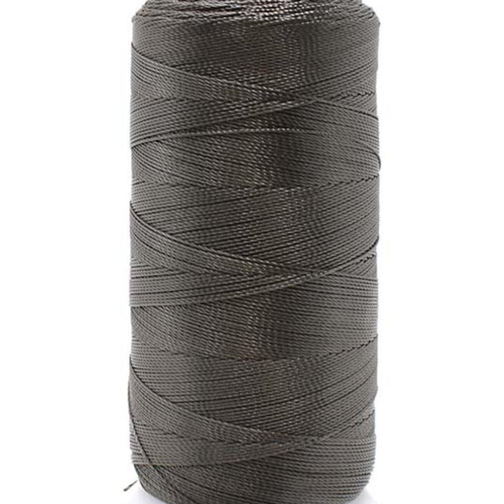 - Beading Thread Dk Grey #6D  Nylon 450M