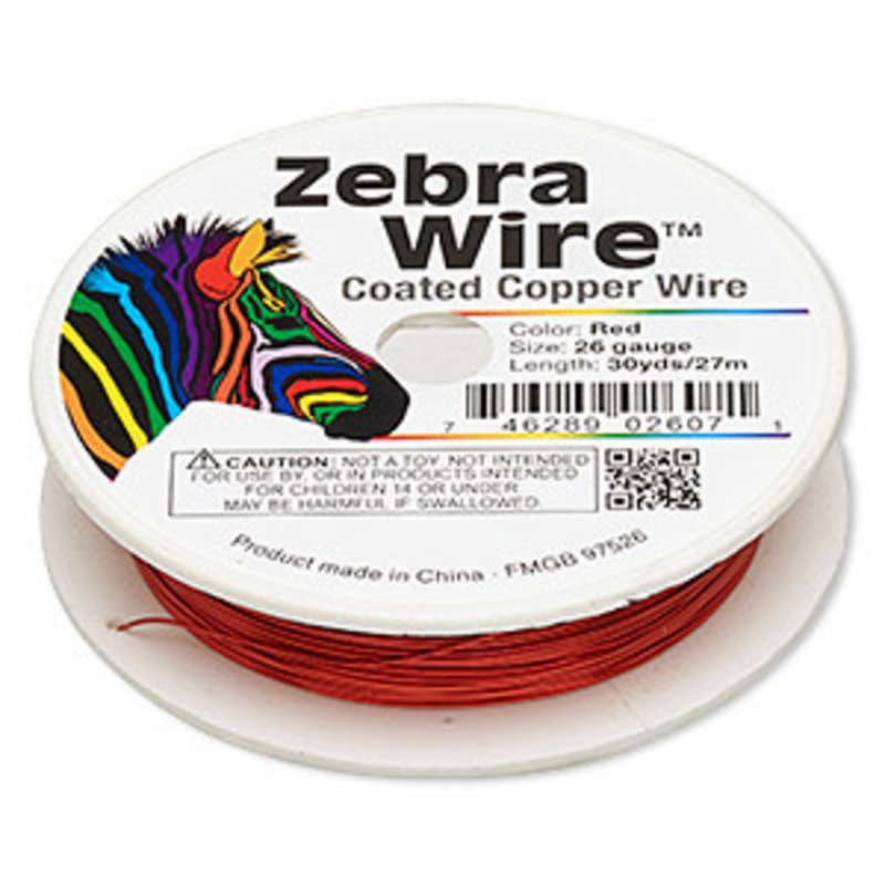 Zebra Wire Zebra Wire Red