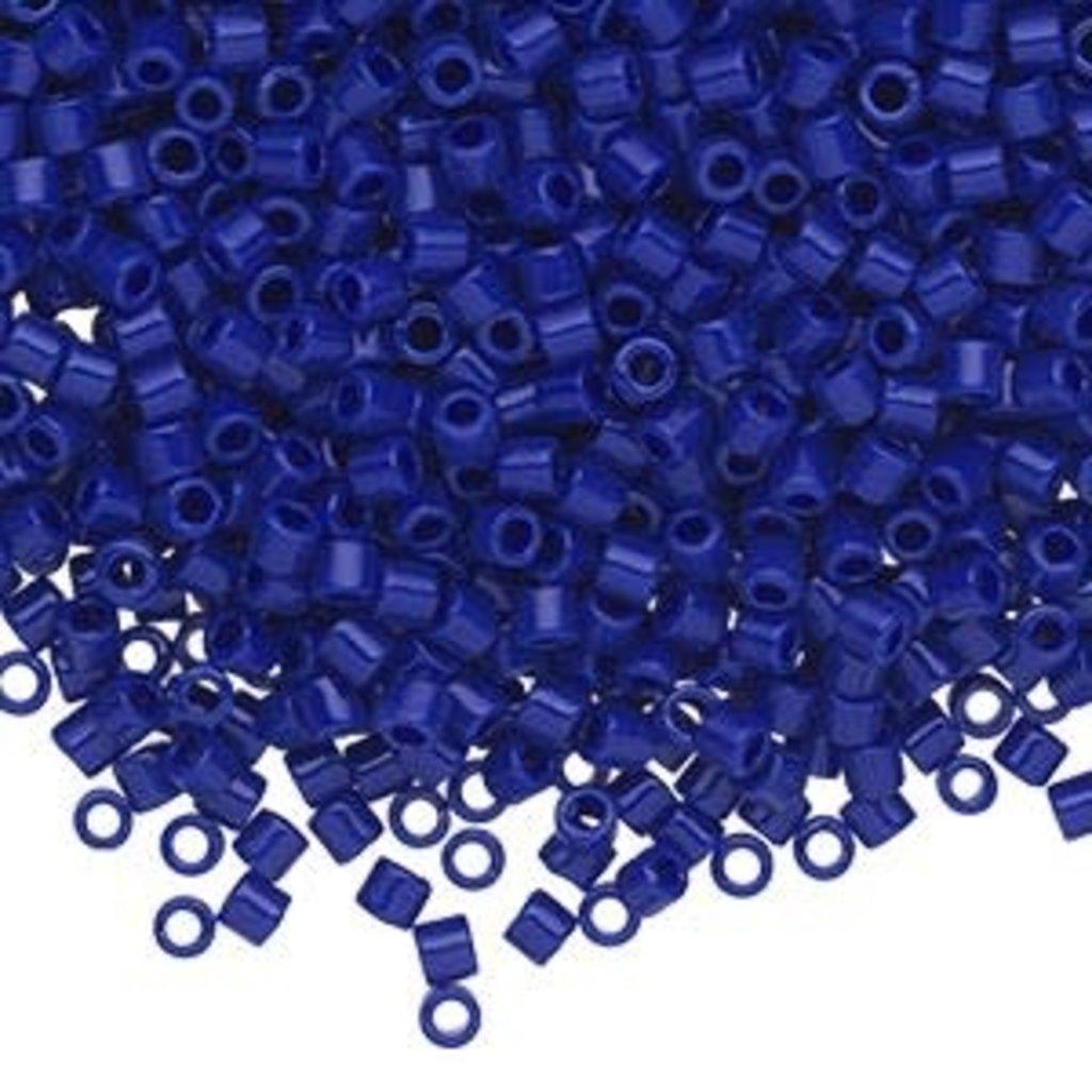 Miyuki Delica #8 Opaque Cobalt  A9907 7.5 gram vial