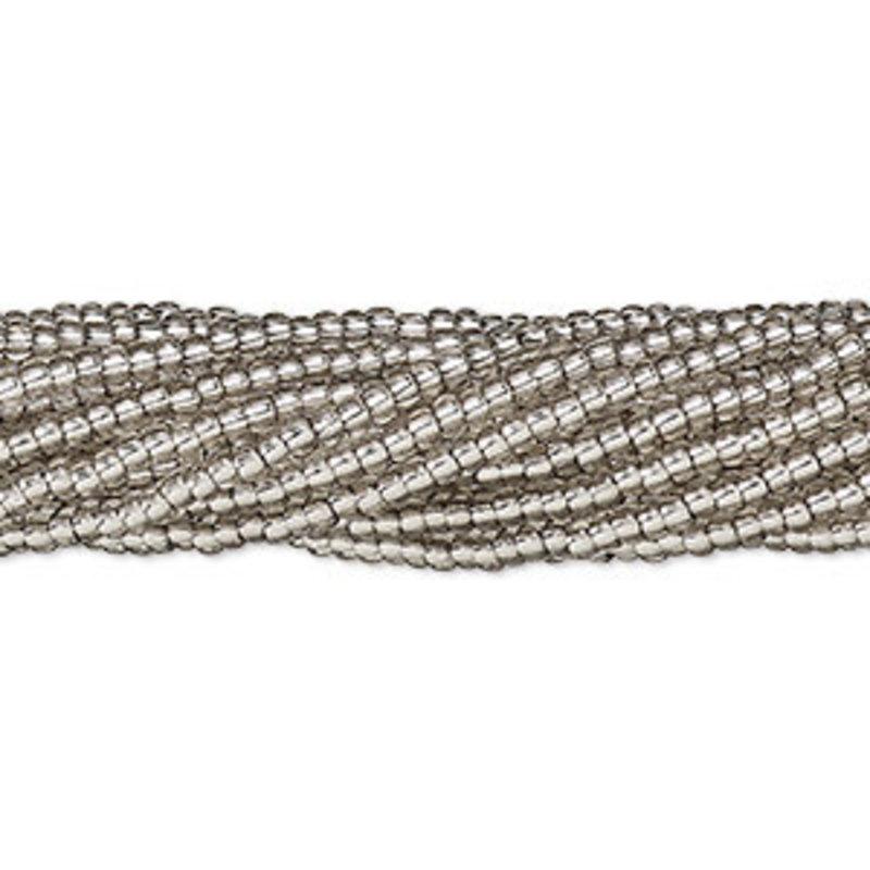 Preciosa SB#11 Translucent silver-lined SolGel Grey/Hank