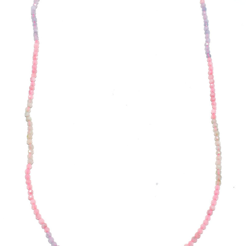 "Bead World Morganite Faceted 16"" Strand"