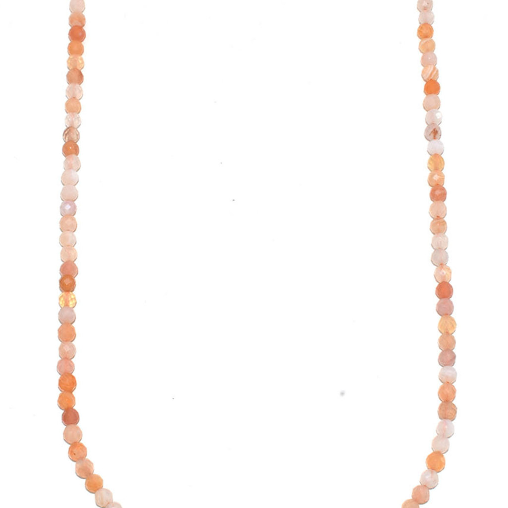 """Bead World Persian Gulf Agate Faceted  16"""" Strand"""