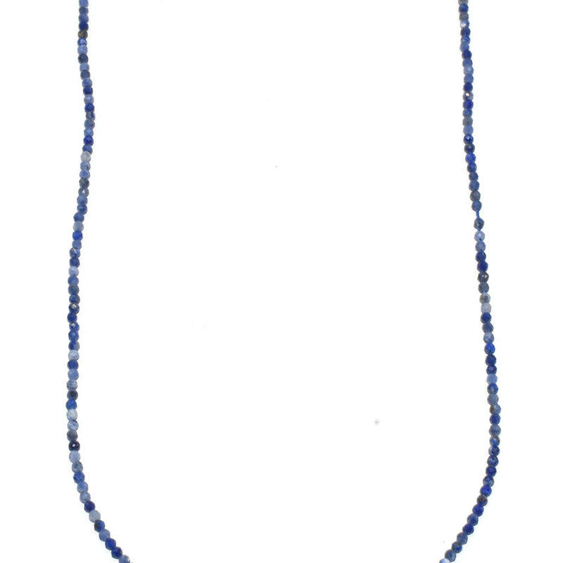 """Bead World Sodalite Faceted 16"""" Strand"""