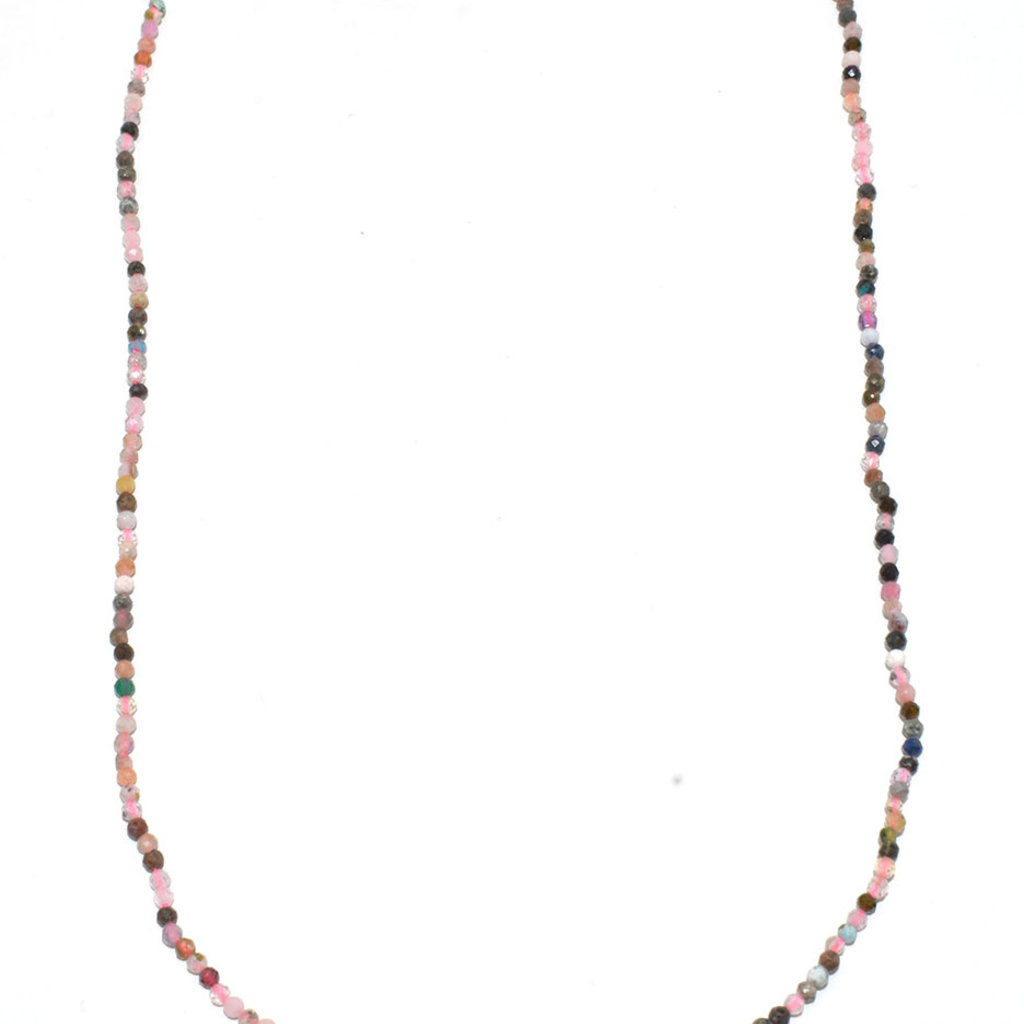 """Bead World Mix Stone Faceted 16"""" Strand"""
