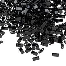 Miyuki Half Tila Opaque Black 10GM