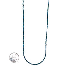 """Bead World Apatite Faceted 16"""" Strand"""