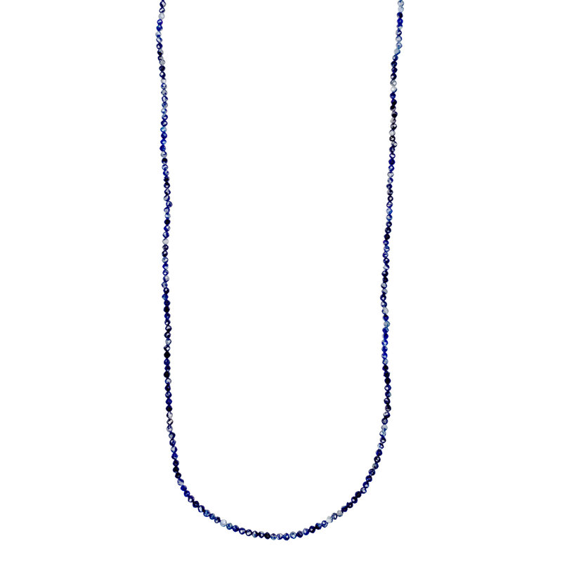"Bead World Lapis Lazuli Faceted 16"" Strand"