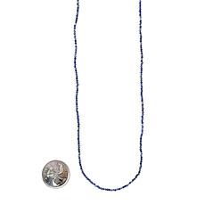 "Bead World Lapis Lazuli Faceted 16"" Strand"