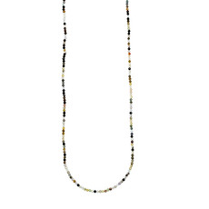 """Bead World Mixed Stone Faceted 16"""" Strand"""