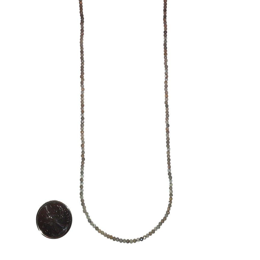 Bead World Grey Moonstone 2mm