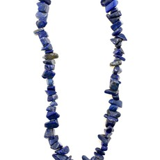 "Lapis Lazuli Stone Chip 33"" Strand"