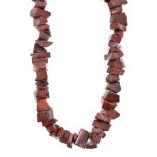 """Red Jasper  Stone Chip 32"""" Strand"""