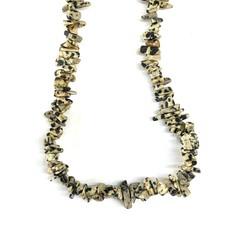 """Dalmatian Jasper Stone Chip 33"""" Strand"""