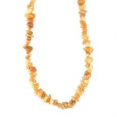 "Red Aventurine  Stone Chip 34"" Strand"