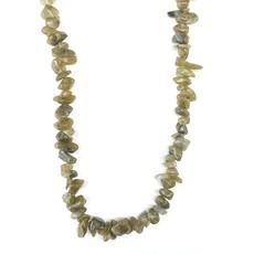 "Labradorite  Stone Chip 33"" Strand"