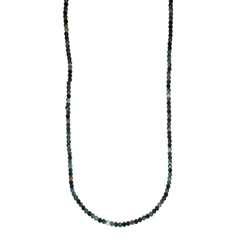 """Mixed Stone Faceted 16"""" Strand"""