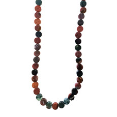 """Bead World Assorted Natural Stones - Coin Shaped 14mm 16"""" Strand"""