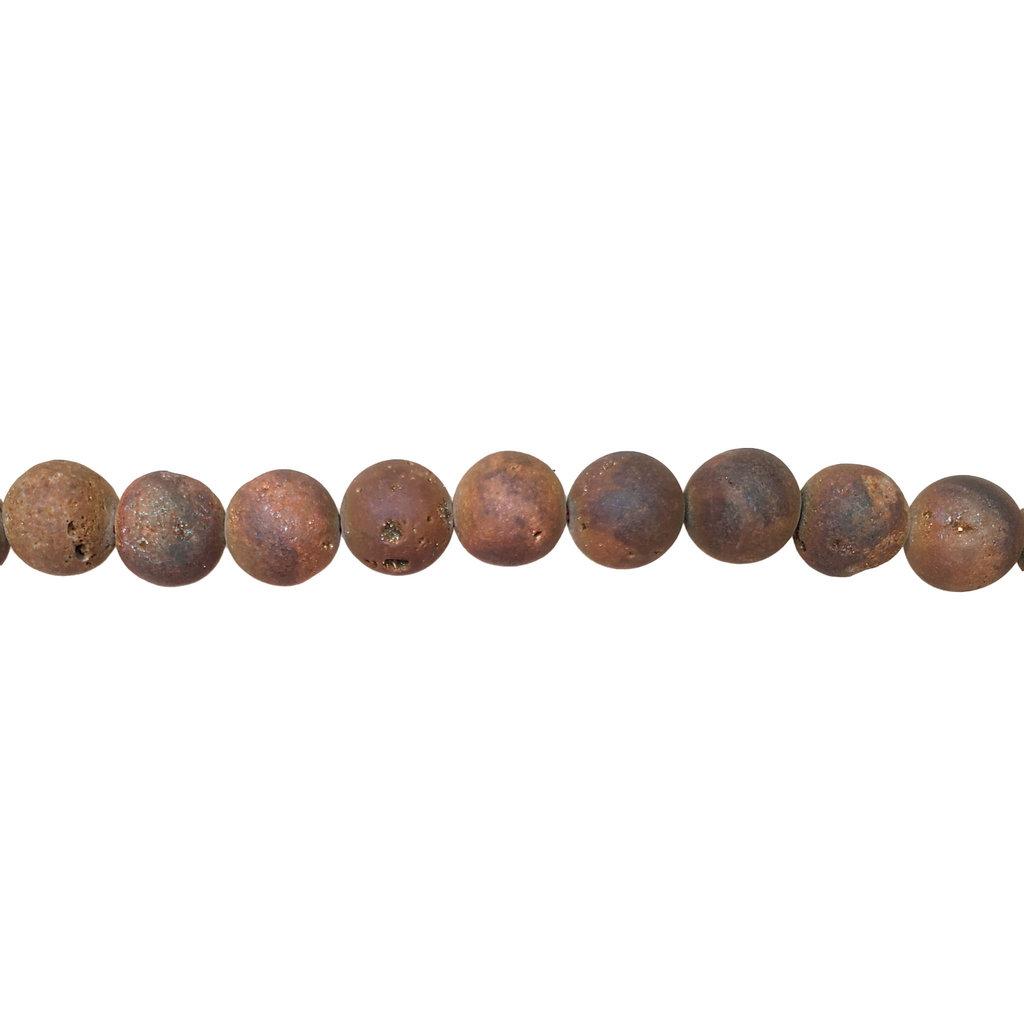 """Druzy Bead 16"""" Wire Strand 10mm"""