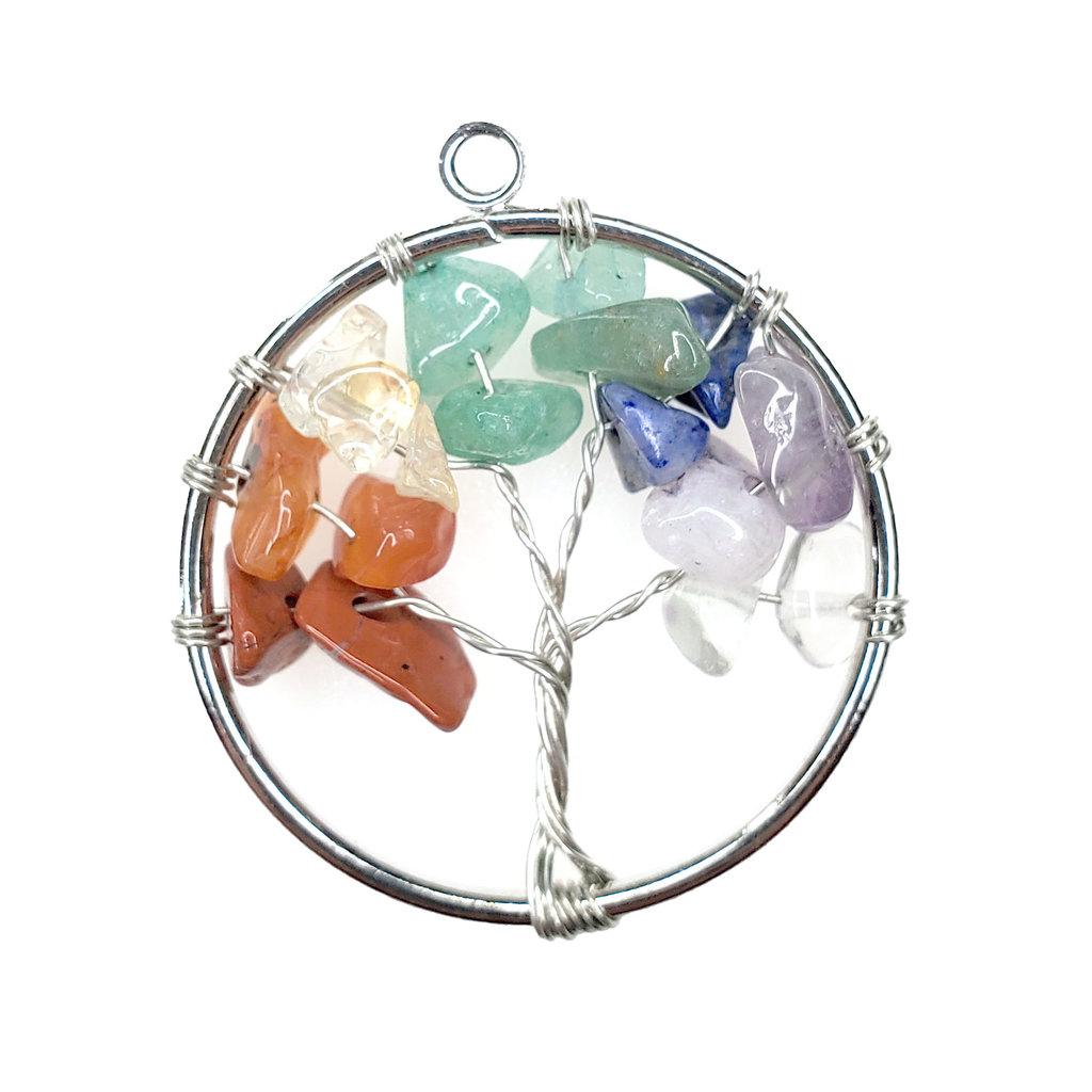 "Tree of life Chakra 1"" Pendant"