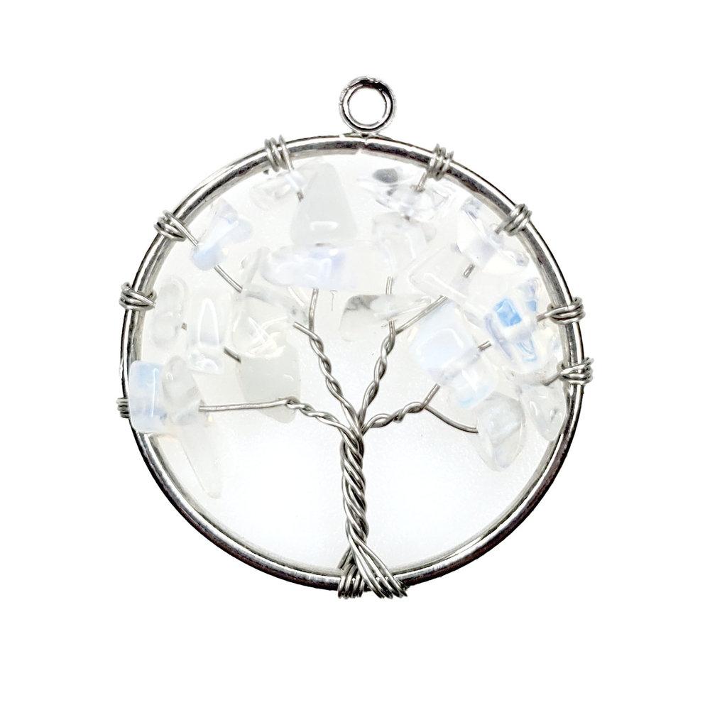 "Tree of Life Opalite 1"" Pendant"