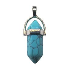 """Pendulum Turquoise 1"""" Pendant"""