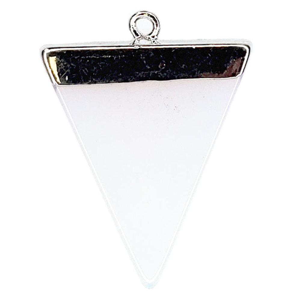 Opalite Triangular Pendant