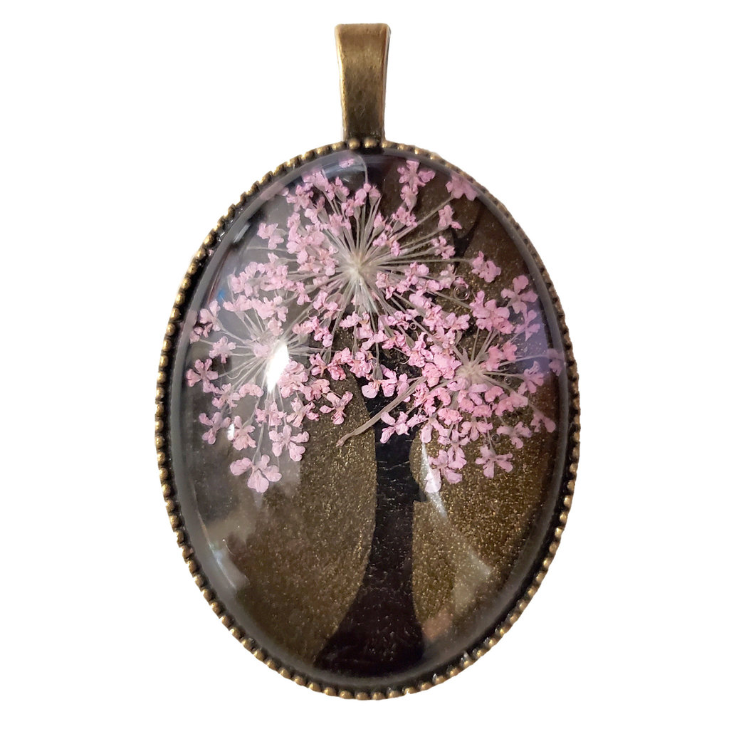 Dried Flower Pendant Tree with Setting