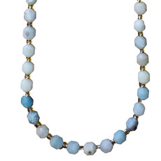 """Amazonite 6mm x7mm  16"""" Strand Faceted"""
