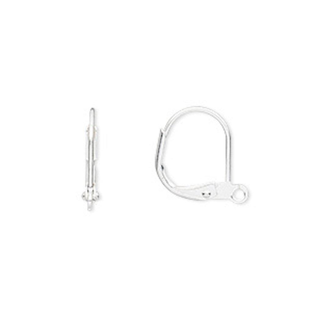 Bead World Leverback Earring Wire Plain
