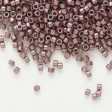 Miyuki Delica #11 Opaque Nickel-Finished Mauve DB0462 50 grams