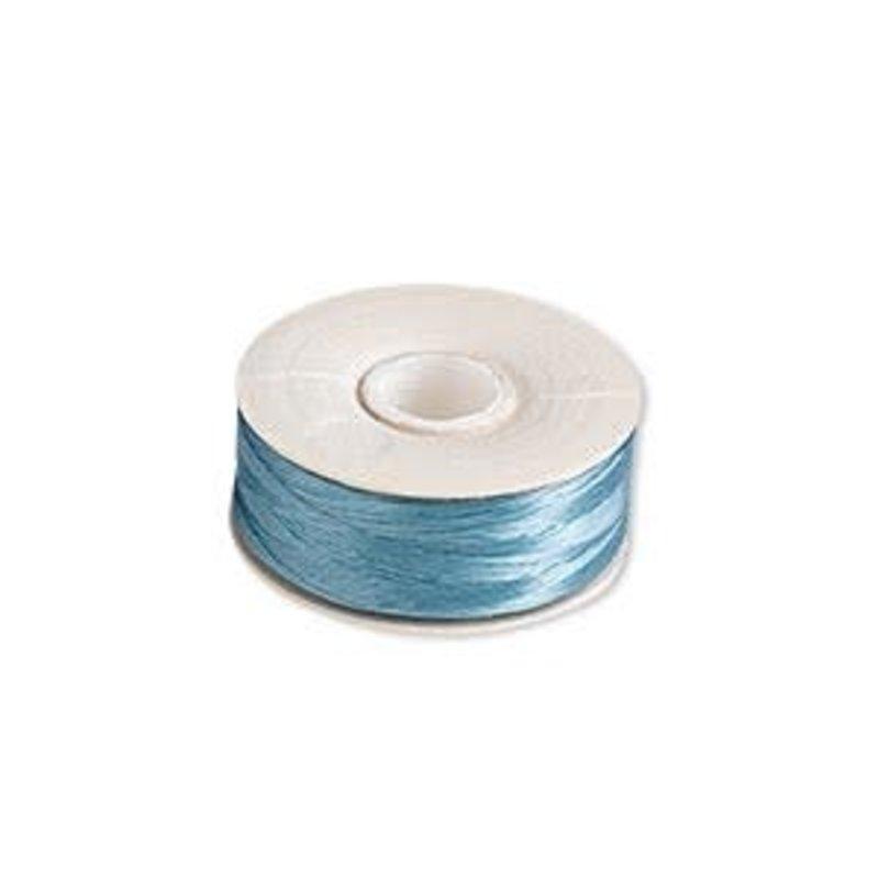 Nymo Thread Nymo Turquoise Blue size #00 110yd bobbin