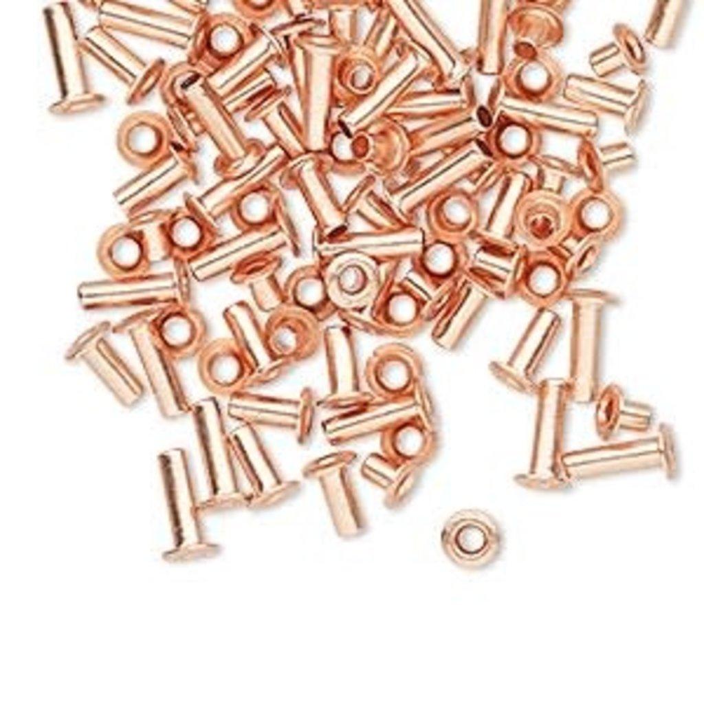 Copper Eyelet Mix 7x3.5mm 100pcs