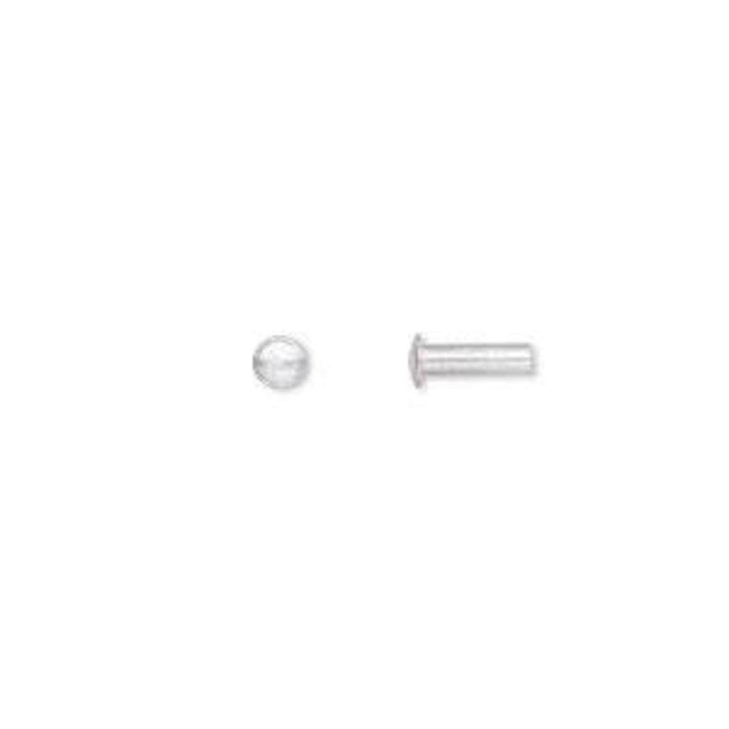 Aluminum Rivet 7.5x3mm 100pcs
