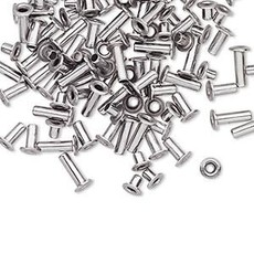 Stainless Steel Eyelets 3.5x3mm 100pcs
