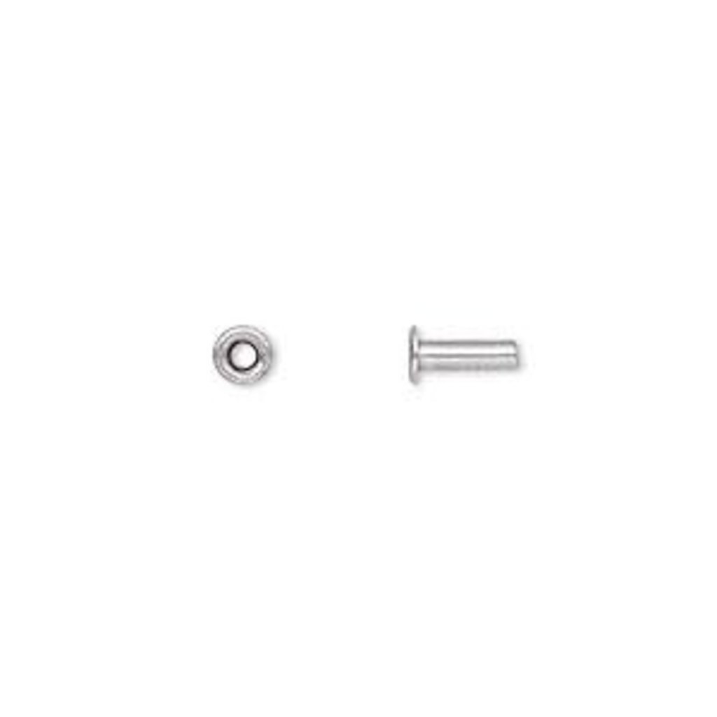 Stainless Steel Eyelets 7x3.5mm 100pcs