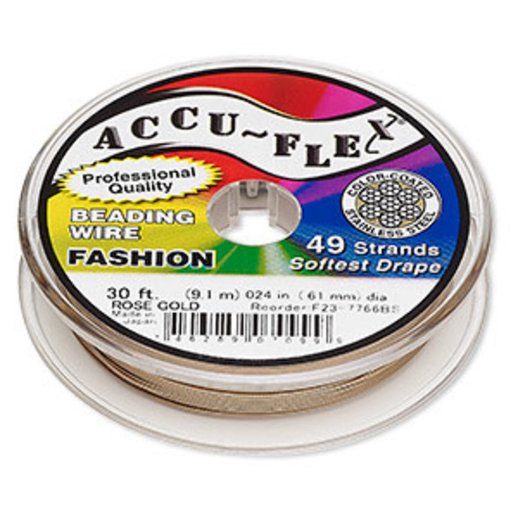 Accu-Flex Accu-Flex Rose Gold 0.24in 30Ft